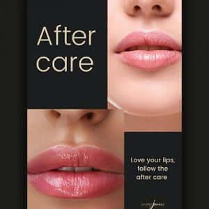 Aftercare Leaflet No Needle Lip Filler